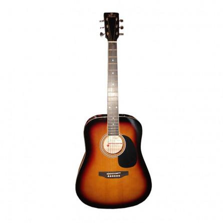 Pluto HW41C 201 SB Acoustic Guitar Sunburst