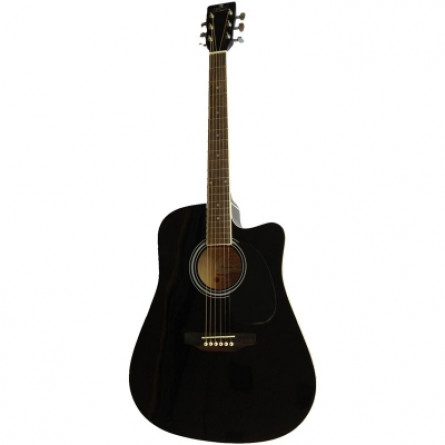 Pluto HW41CE 101 BK Acoustic Guitar Black