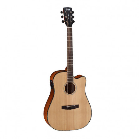 Cort MR E NS Semi Acoustic Guitar Natural Satin