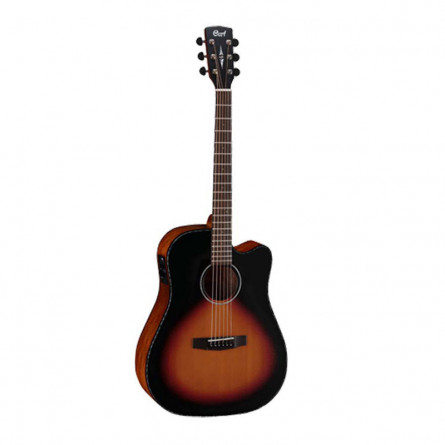 Cort MR E 3TSS Semi Acoustic Guitar 3 Tone Satin Sunburst