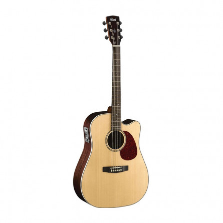 Cort AD880CE NS Semi Acoustic Guitar Natural Satin