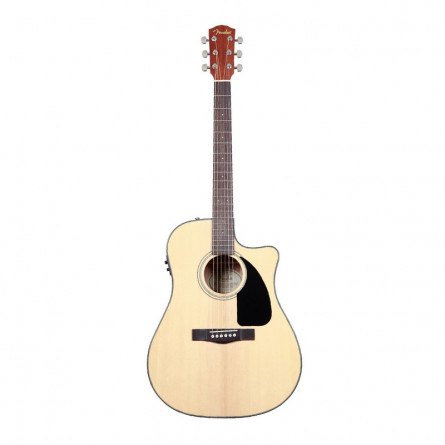 Fender CD 60CE NAT Semi Acoustic Guitar Natural