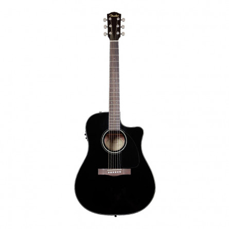 Fender CD 60CE BLK Semi Acoustic Guitar Black