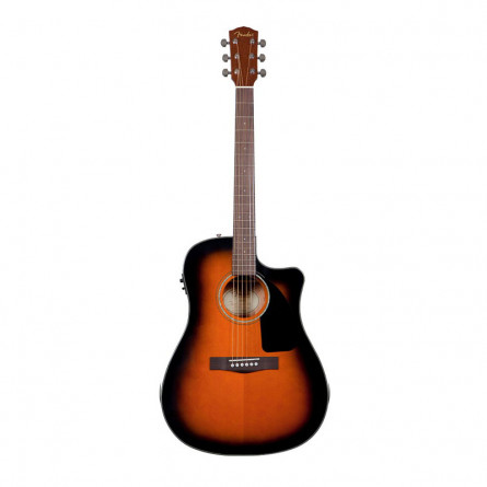 Fender CD 60CE SB Semi Acoustic Guitar Sunburst