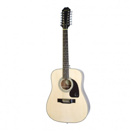 Epiphone DR 212 Acoustic Guitar 12 String Natural