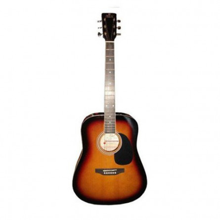 Pluto HW39 201 SB Acoustic Guitar Sunburst