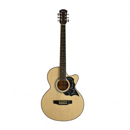 Grail AG-A190C Acoustic Guitar Cutaway Natural