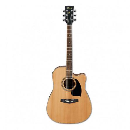 Ibanez PF17ECE LG Semi Acoustic Guitar Natural