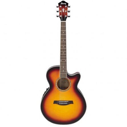 IbanezAEG10II VS Semi Acoustic Guitar Vintage Sunburst