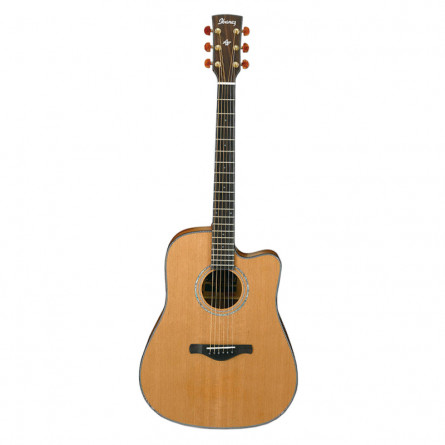 Ibanez AW70 ECE LG Semi Acoustic Guitar Natural Low Gloss