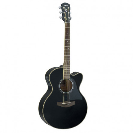 Yamaha CPX 500 III Semi Acoustic Guitar Black