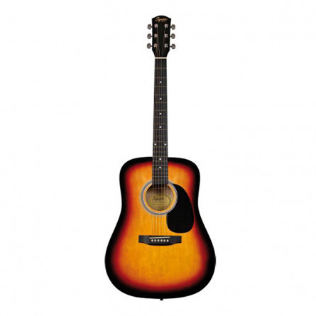 Fender Squire SA 105 Acoustic Guitar Sunburst
