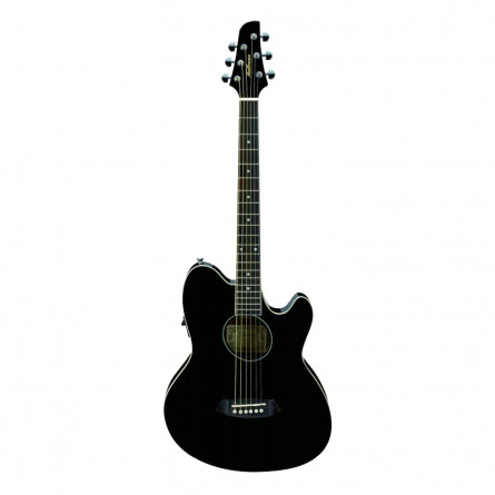 Ibanez TCY10E BK Semi Acoustic Guitar Black