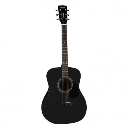 Cort AF510E BKS Semi Acoustic Guitar Black Satin
