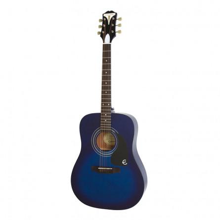 Epiphone PRO 1 Acoustic Guitar Trans Blue EAPRTLCH1