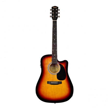 Fender Squier SA 105 SB Acoustic Guitar Pack Sunburst