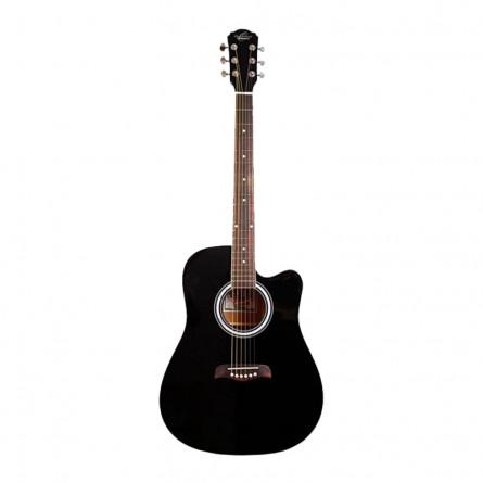 Washburn USM-OD45CBPAK Acoustic Guitar Black