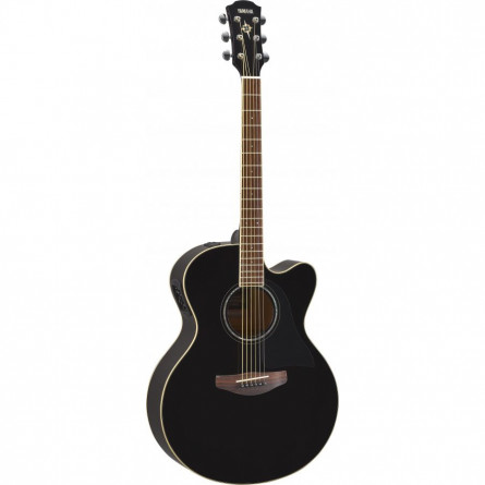 Yamaha CPX 600 Semi acoustic Guitar black