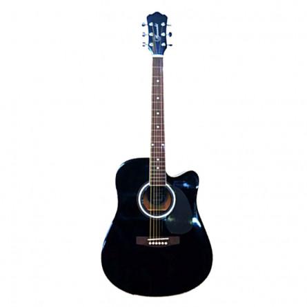 Granada PRLD-18C-F Acoustic Guitar Dreadnought  Black