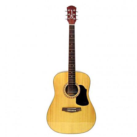 Granada PRLD-68PRO Acoustic Guitar Dreadnought Natural