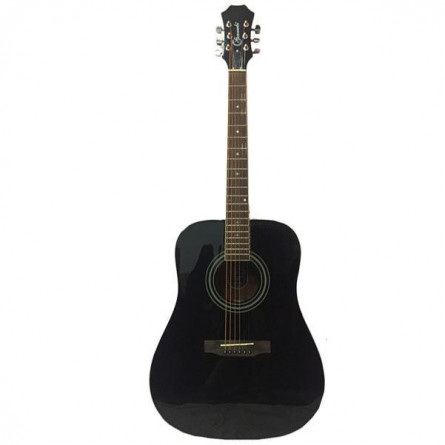 Granada PRLD-68PRO Acoustic Guitar Dreadnought Black