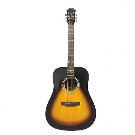 Granada PRLD-18C-F Acoustic Guitar Dreadnought  Vintage Sunburst