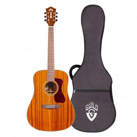 Guild D-120 Acoustic Guitar Natural with Case