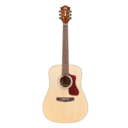 Guild D-140 Acoustic Guitar Natural with Case