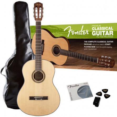 Fender FC100 Classical Guitar Pack