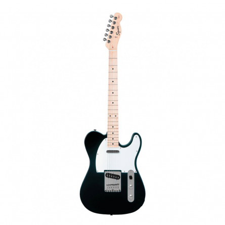 Fender Squier Affinity Telecaster Electric Guitar Maple Fret Board S S Black