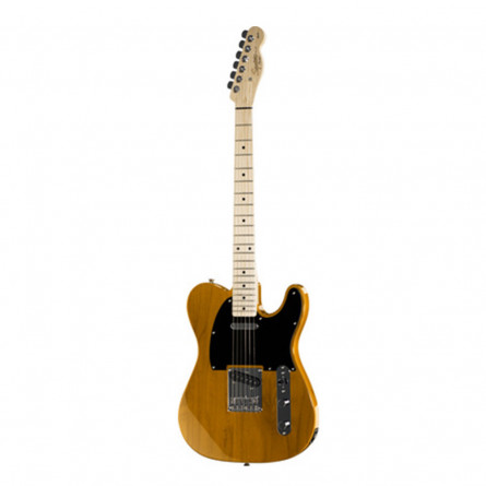 Fender Squier Affinity Telecaster Electric Guitar Maple Fret Board S S Butterscotch Blonde