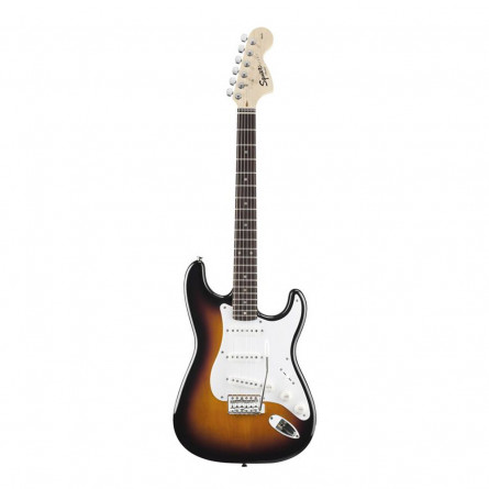 Fender Squier Affinity Stratocaster Electric Guitar Maple Fret Board S S S 2Tone Sunburst