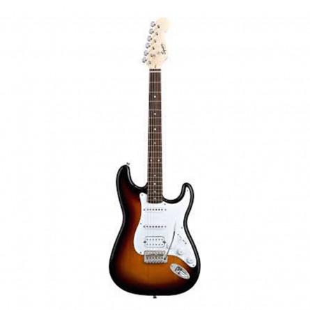 Fender Squier Bullet Stratocaster Electric Guitar Rosewood Fretboard H S S Brown Sunburst