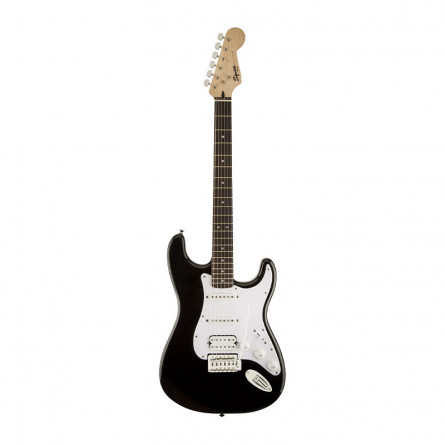 Fender Squier Bullet Stratocaster Electric Guitar Rosewood Fretboard H S S Black