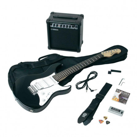 Yamaha ERG121 GPII Electric Guitar Kit Black