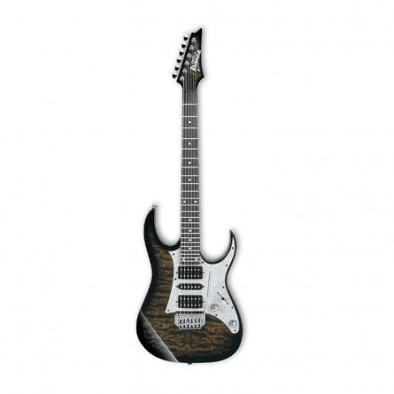 Ibanez GRG 150QA TKS Electric Guitar Transparent Black Sunburst