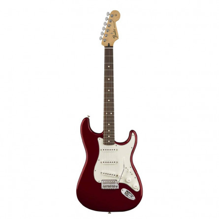 Fender Squier Standard Stratocaster Electric Guitar Maple Fretboard Candy Apple Red