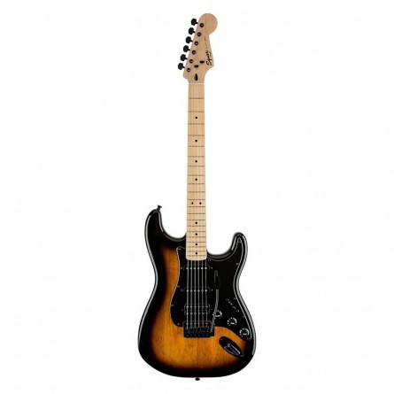 Fender Squier Bullet Stratocaster Electric Guitar Maple Fretboard H S S 2 Tone Sunburst