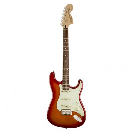 Fender SquierStandard Stratocaster Electric Guitar Rosewood Fretboard Cherry Sunburst