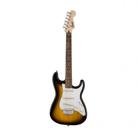Fender Squier PK Stratocaster 10G Electric Guitar Rosewood Brown Sunburst