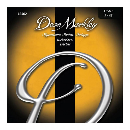 Dean Markley 2502 Light Nickel Steel Electric Guitar Strings 9 -42