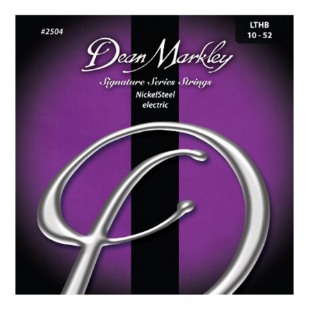 Dean Markley 2504 LTHB NickelSteel Electric Guitar Strings 10 -52