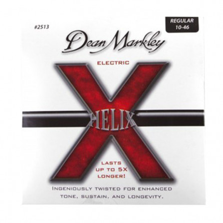 Dean Markley 2513 HELIX HD Electric Guitar Strings 10 -46