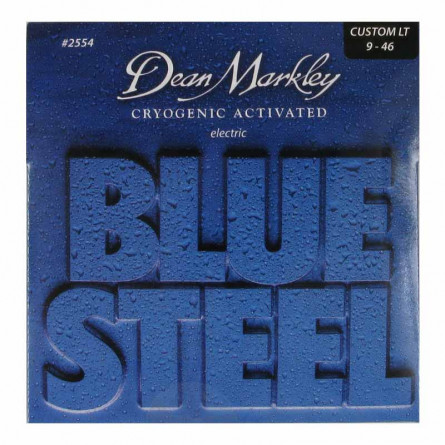 Dean Markley 2554 Blue Steel Custom Light Electric Guitar Strings 9 -46
