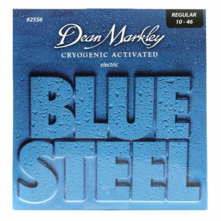 Dean Markley 2556 Blue Steel Custom Light Electric Guitar Strings 10 -46