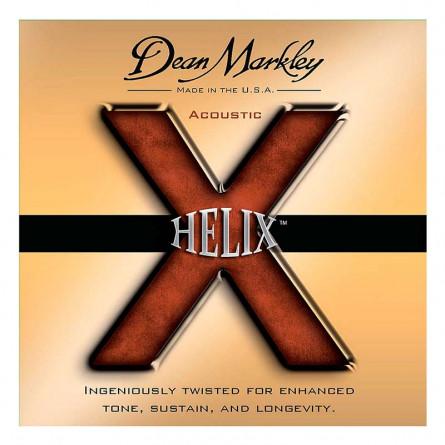 Dean Markley HELIX HD 2080 Acoustic Guitar Strings 80/20 XL 11 -52