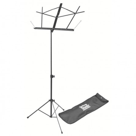 On Stage SM7122BB Sheet Music Stand With Carry Bag
