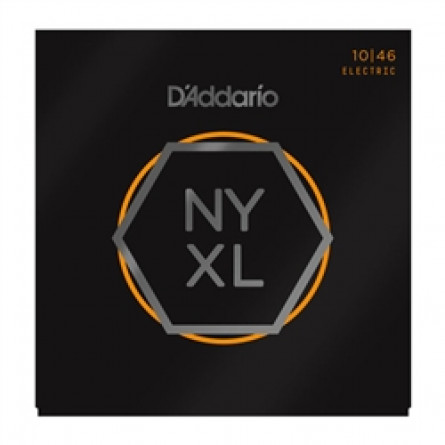D'Addario Electric Guitar Strings NYXL  010 -046 Reg Lite Set NYXL1046