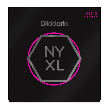 D'Addario Electric Guitar Strings NYXL  009 -042 Sup Lite Set NYXLO942