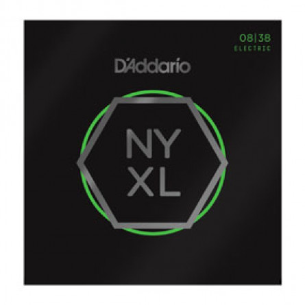 D'Addario Electric Guitar Strings NYXL  008 -038 Extra Super Lite Set NYXL0838
